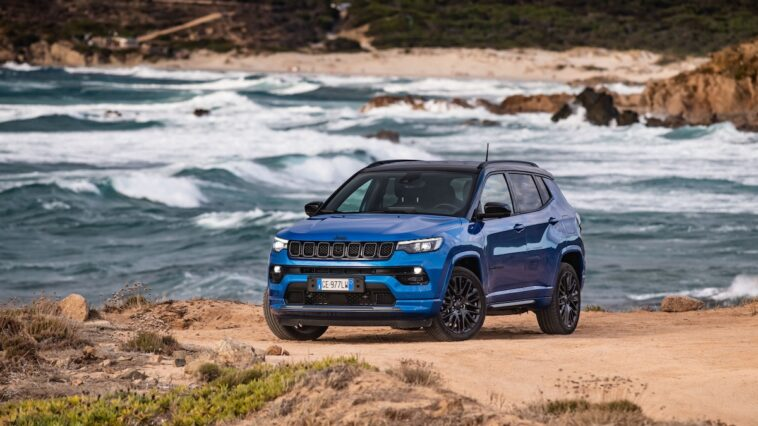 Nuova Jeep Compass 4xe Leasys Unlimited