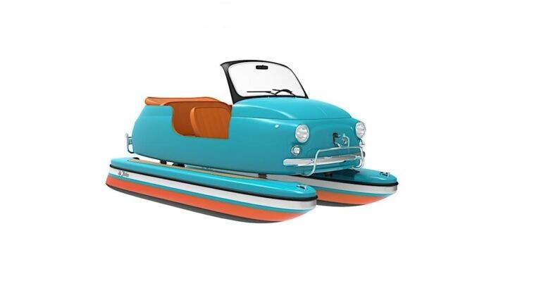 Floating Motors ispirata alla Fiat 500